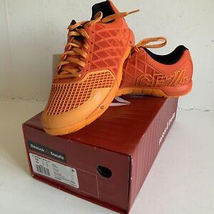 Reebok-Crossfit-Nano-Baskets-UK-9-Brand-New-in-Box-Flux-Danger-Orange-RARE