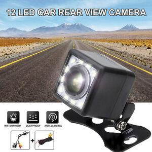 12-LED-HD-Car-Rear-View-Camera-Auto-Parking-Reverse-Backup-Camera-Night-Vision