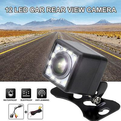 12 LED HD Car Rear View Camera Auto Parking Reverse Backup Camera Night VisWT BR