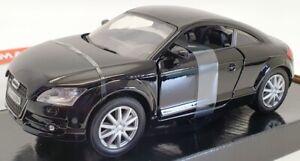 Motor-Max-scala-1-24-Modello-Auto-73340-AUDI-TT-COUPE-Nero