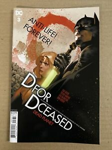 DC COMICS S20070019 DCEASED DEAD PLANET #3 VARIANT