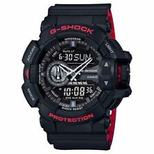 CRAZY WEEKEND DEAL NEW G-SHOCK GA400HR-1A ROTARY BLACK/RED,ANA/DIGI,MENS WATCH