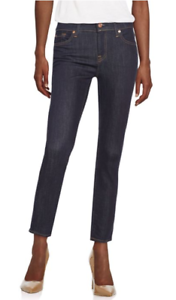 7 For All Mankind Gwenevere Cropped Skinny Jean 30 NWT