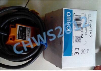 1 PCS NEW Omron square column proximity sensor TL-Q2MC1 2m 12-24VDC