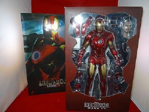 1 6 Iron Man Mark Iv Iron Man 2 Movie Masterpiece Hot Juguetes utilizado JC