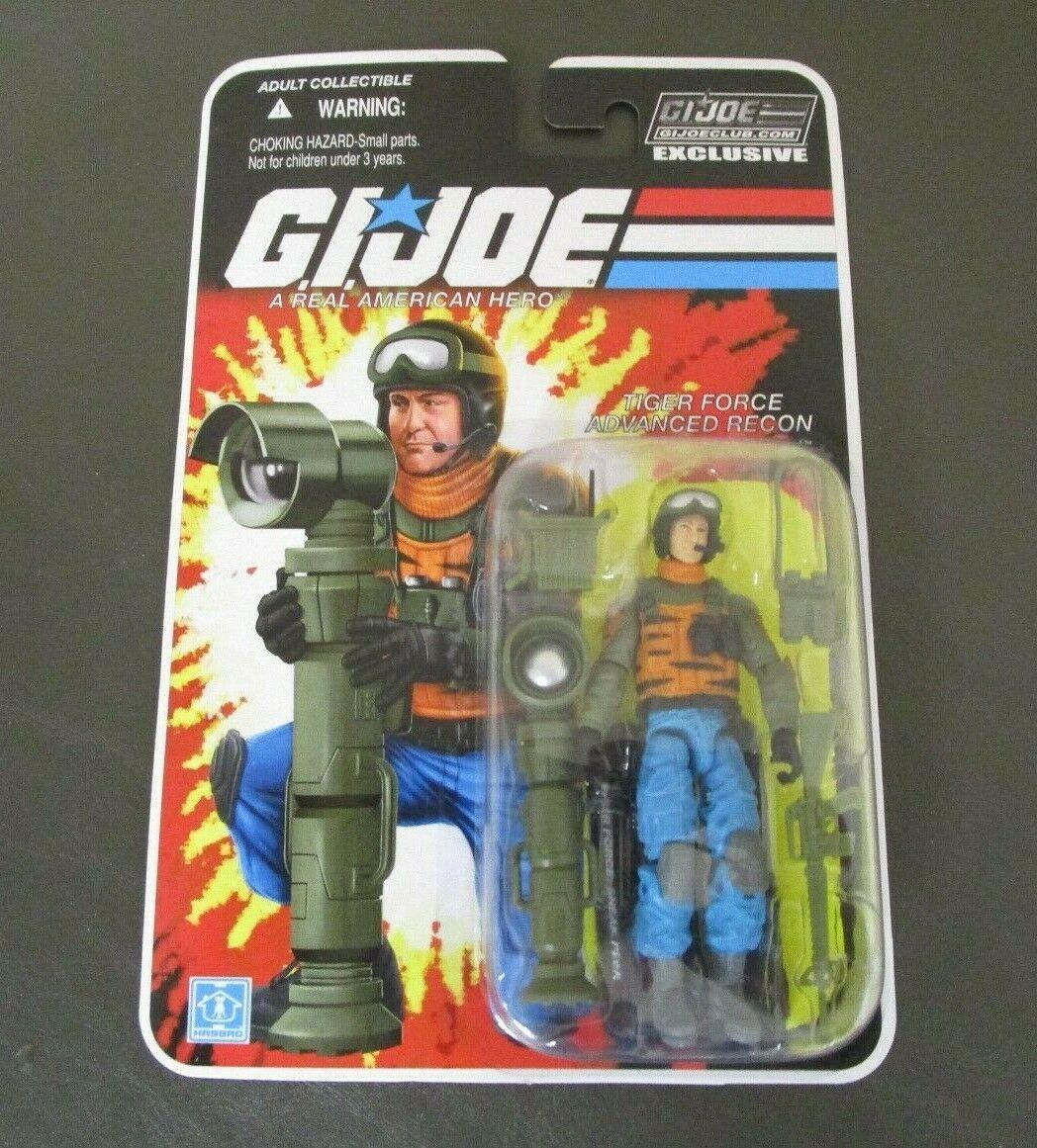 Sneak Peek Tiger Force FSS G.I. Joe Cobra 25th Collector's club exclusivo menta en tarjeta
