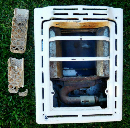 Vintage Rless 7602 Wall Mount Gas, Antique Bathroom Gas Wall Heaters
