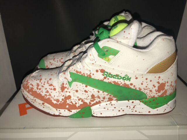 ca73817ac1b19d Reebok Court Victory Pump French Open Packers Ball out Tennis V49283 ...
