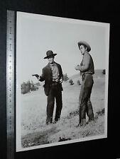 PHOTO CINEMA MGM 1956 WESTERN LA DERNIERE CHASSE ROBERT TAYLOR STEWART GRANGER