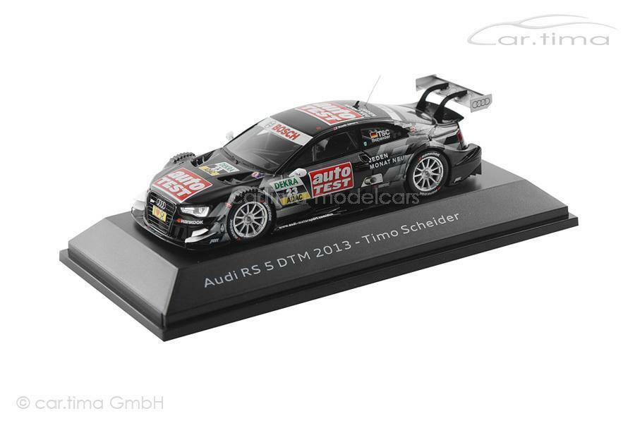 Audi RS5 - DTM 2013 - Timo Timo Timo Scheider - Audi collection - 1 43  | Deutschland Frankfurt  1463d6