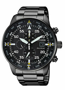 Citizen-Eco-Drive-Men-039-s-CA0695-50E-Chronograph-Black-Dial-Band-44mm-Watch