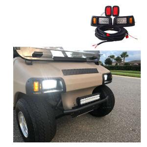 Image Is Loading Club Car Ds Led Light Kit Adjule Headlights