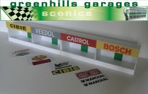 Greenhills-Scalextric-Slot-Car-Building-Reims-Pit-Boxes-Kit-1-43-Scale-Bran