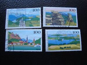 ALEMANIA-rfa-sello-yvert-y-tellier-n-1572-a-1575-obl-A5stamp-germany