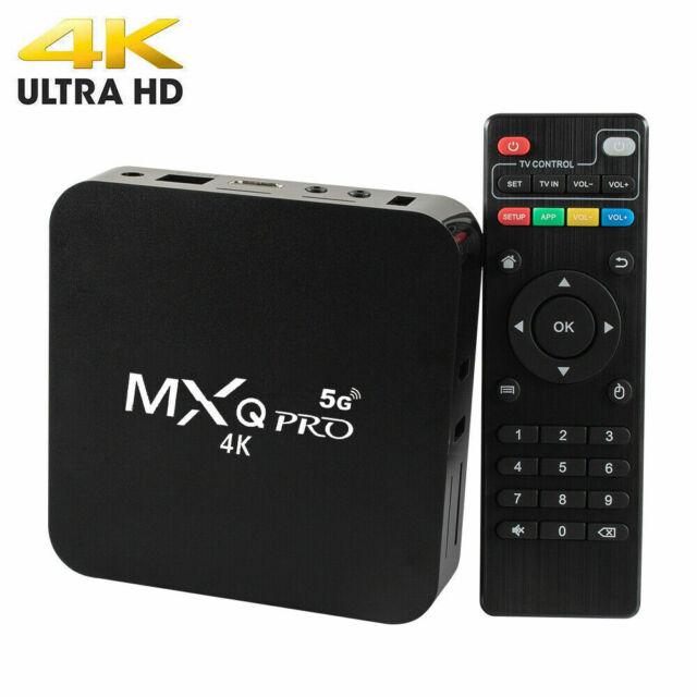 2020 MXQ PRO TV Box Media Streamer 4K Android 7.1 S905W 1G+8G Wifi / X96