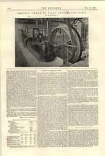 1896 Motor de planta de amoníaco icemaking bombas Sheffield Pulsómetro