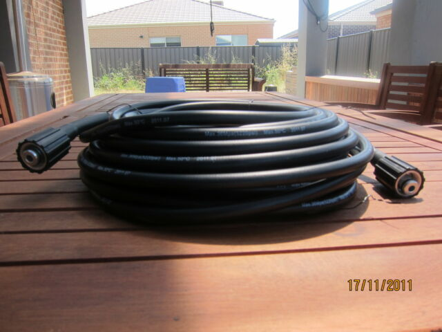 NEW 10M HIGH WATER PRESSURE CLEANER HOSE ( MALE TO MALE CONNECTION )