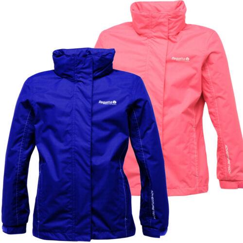 Regatta Spellbind Girls Jacket Kids Waterproof /& Breathable Ripstop RKW125E