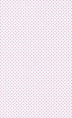 20 Sheets A4 White Card with Small pink Spot Pattern 240gsm NEW