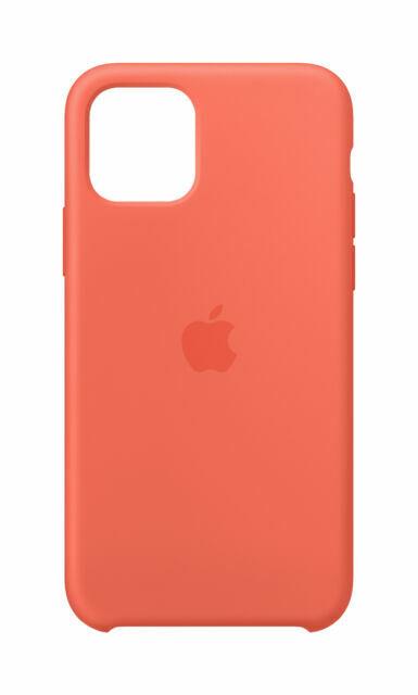 Apple Silicone Cover per Apple iPhone 11 Pro - Mandarancio (Arancione)