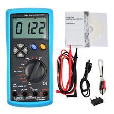 True Rms Multimeter Measures Current Voltage Dc Ac Temperature Auto Ranging