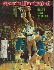 1974-2-25-Sports-Illustrated-magazine-basketball-Bill-Walton-UCLA-Oregon-GOOD
