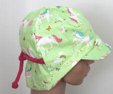 Einhorn  Pferde Sommerhut  Mädchen Sommermütze-Schirmmütze grün Kinder DaWanda
