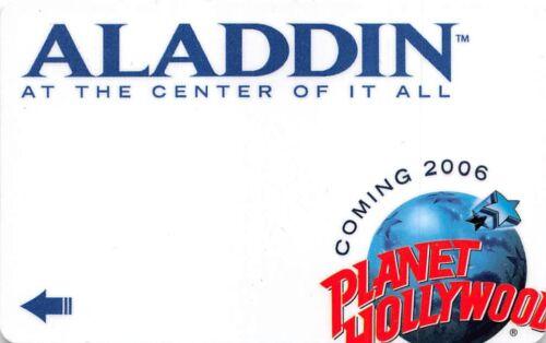 Hotel Key Card Last Vegas Planet Hollywood Aladdin USA-14439