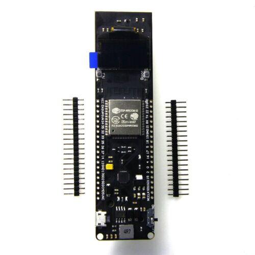WiFi Bluetooth Batterie ESP32 ESP-32 0.96 in OLED Outil de développement WEMS TTGO environ 2.44 cm