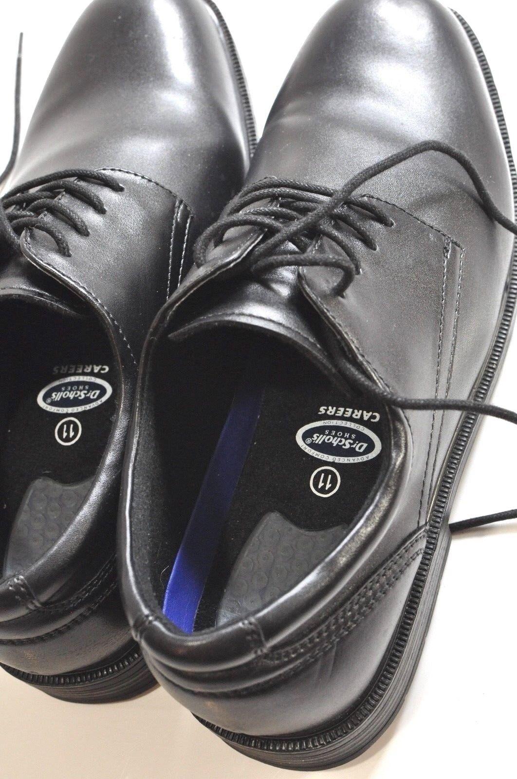 Dr Scholls Careers Mens black oxford shoes size 11