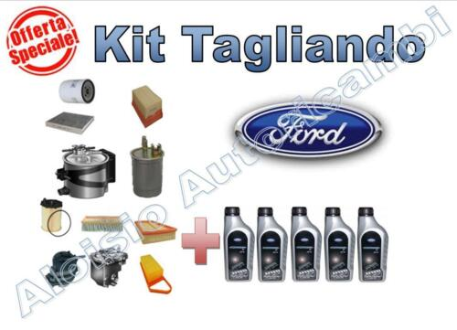 -/> Spedizione Inclusa!! KIT TAGLIANDO FORD FOCUS 1.6 85kw  Benzina DAL 2007