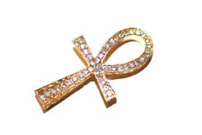 5pc Rhinestone Cross Bracelet Connector Charm 1-3 day Shipping