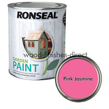 Item 6 Ronseal Garden Paint Various Colours For Outdoor Exterior Wood Metal Stone Brick