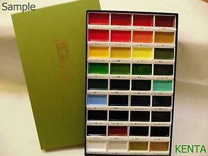ZIG Kuretake Gansai Tambi Japanese Watercolor Paint 36 Colors set Japan F//S