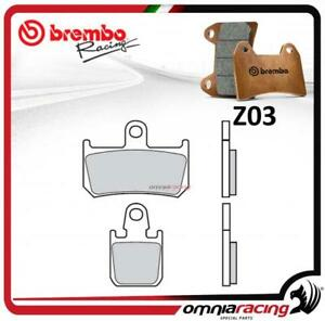 Brembo Racing Z03 front brake pad sintered compound for Yamaha YZF R1 2007>2014