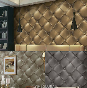 3-Colors-10M-Luxury-Skin-Faux-Leather-3D-Effect-Vinyl-Coated-Wallpaper-Roll