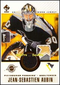 PACIFIC-PRIVATE-STOCK-PS-2001-JEAN-S-AUBIN-NHL-PENGUINS-VARIATION-GAME-PATCH-75
