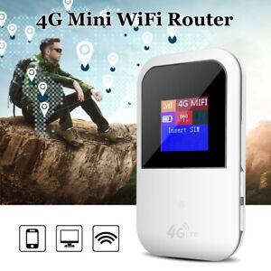 4G-LCD-LTE-WIFI-Wireless-Router-Mobile-Hotspot-Modem-Broadband-150Mbps-Unlocked