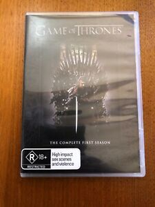 Game-Of-Thrones-The-Complete-First-Season-R-5-Disc-DVD-Set-Pal-Free-Postage