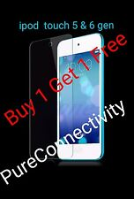 [PACK OF 2] IPOD TOUCH 5TH 6TH 5 - 6 GEN GENUINE TEMPERED GLASS SCREEN PROTECTOR