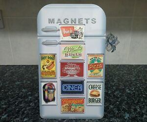 Choice-of-American-Diner-Fridge-Magnet-NEW-Route-66-Americana-USA-Retro