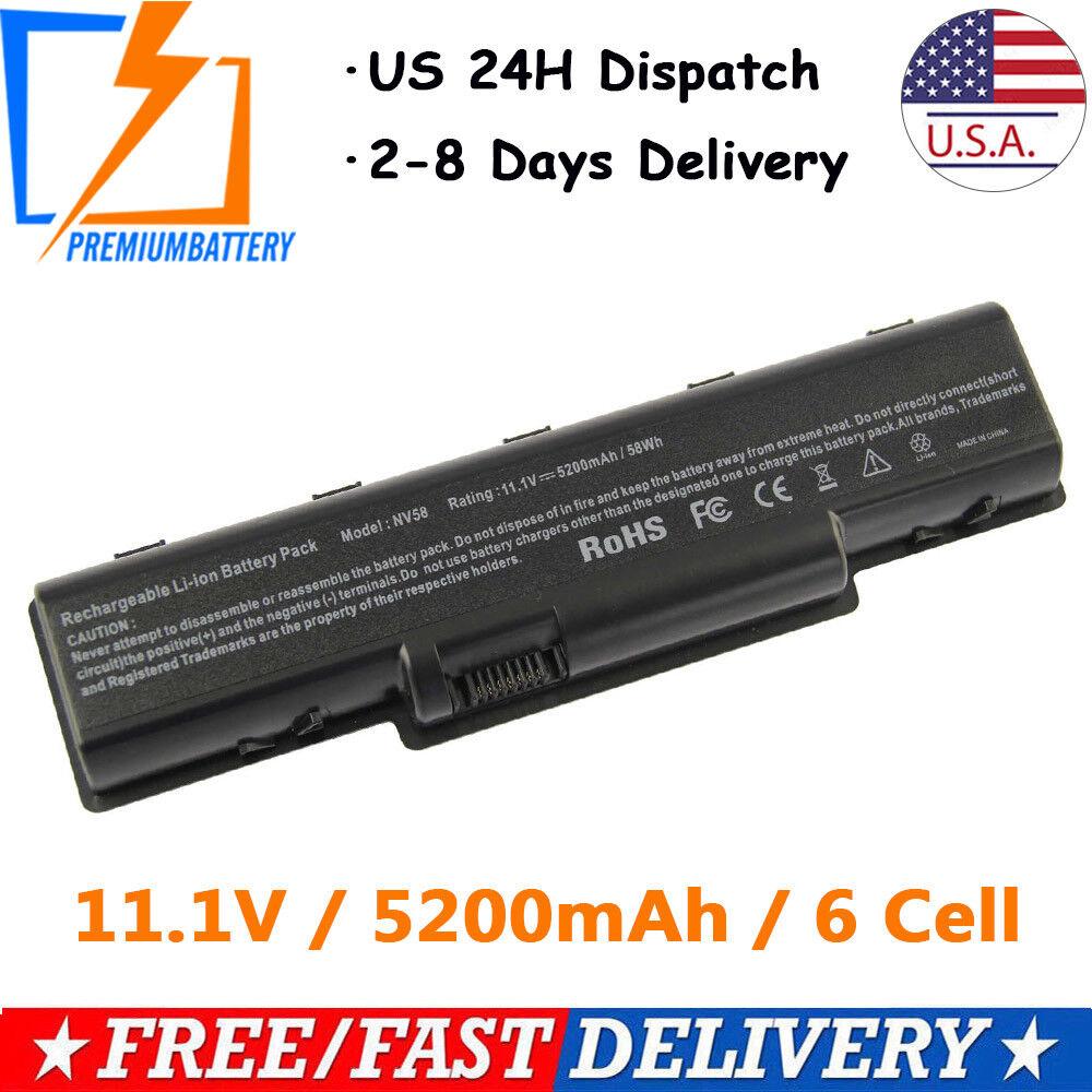 Laptop Battery For Gateway NV52 NV53 NV54 NV56 NV58 NV59 AS0