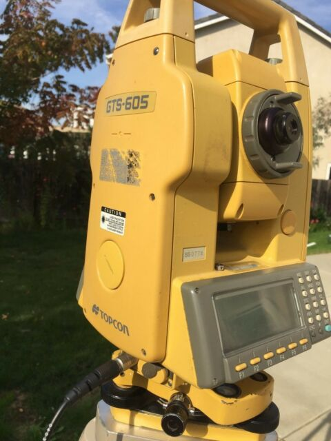 Topcon GTS-605 Total Station
