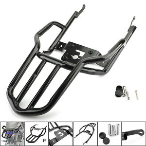 Back Rear Luggage Rack Tail Carrier Support For Kawasaki Z900RS Z 900 RS2018 BU4