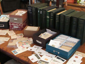 Worldwide Stamp Collection - Estate Find - Mint, Used, Old - 660+ Stamps, $400+