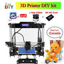 Auto Leveling DIY Self-Assembly 3D Printer High Precision Acrylic Frame Prusa i3