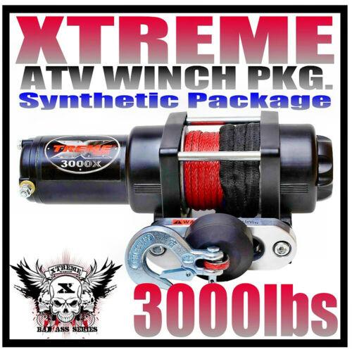 3000LB XTREME ATV WINCH 3000LB Polaris Kit Sportsman 05-10