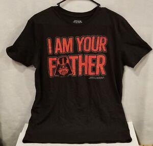 f00cc54cb Star Wars Luke I Am Your Father Tshirt Fifth Sun Mens M | eBay