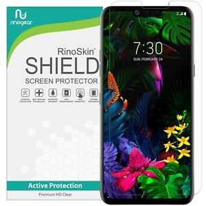 For-LG-G8-ThinQ-Screen-Protector-RinoGear-USA-Made-Lifetime