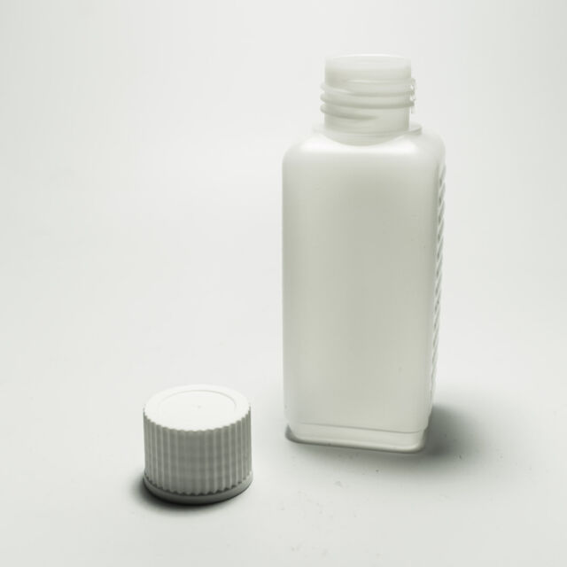 10x 100ml Leerflasche Kunststoff Flasche Leer mit Spritzeinsatz Selbstabfüller